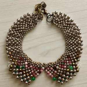 Anthropologie Beaded Collar Necklace